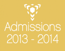 Admissions 2013-2014: Imagine, Create and Explore