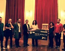 """entra na minha casa"" wins Semibreve Award"